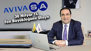AvivaSA 30 Milyar TL Fon Büyüklüğüne Ulaştı