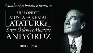 Başkan Güleçyüz'den 10 Kasım Mesajı