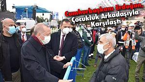 Cumhurbaşkanı Erdoğan, Çocukluk Arkadaşına Saat Hediye Etti