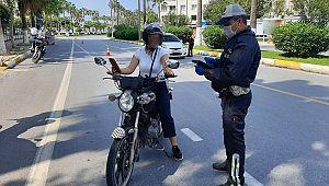 Denetimlerde 12 bin 374 Motosiklet Sürücüsüne CEZA kesildi