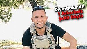 Diyarbakır'da 1 Askerimiz Şehit Düştü