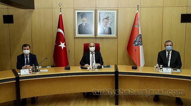 EGM Aktaş, Yeni Daire Başkanı Levent Eke'ye başarılar diledi