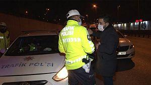 Ehliyetsiz, Alkollü Sürücü İzinsiz Sokağa Çıkınca YAKALANDI