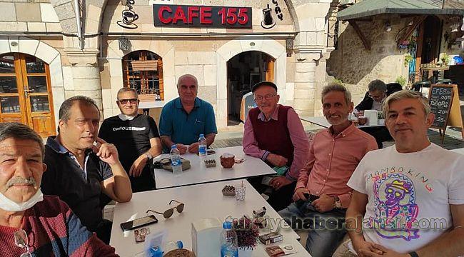 Emekli Polisler Cafe 155'de buluştu