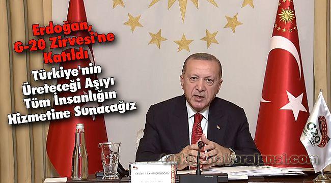 Erdoğan, G-20 Zirvesi'ne Katıldı