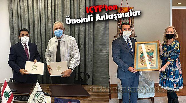 ICYF'ten Önemli Anlaşmalar