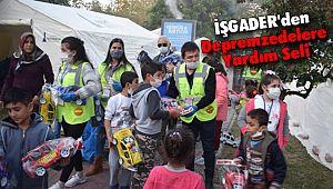 İŞGADER'den İzmir Depremzedelere Yardım Seli