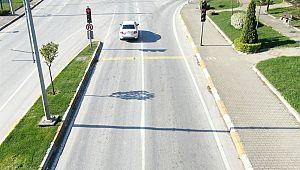 Kırmızı ışık ihlalinden 10 bin 128 sürücüye CEZA kesildi