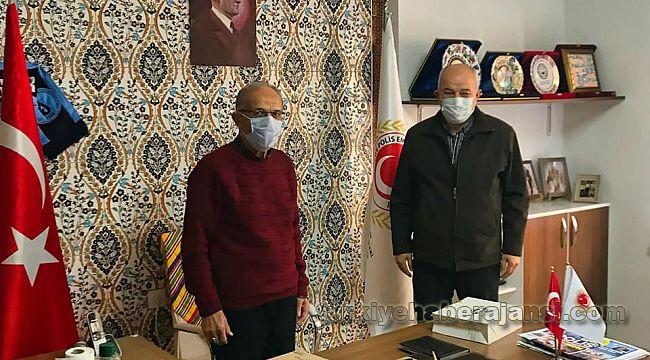 Kütahya Milletvekili Ali Kasap, Polis Derneğini ziyaret etti