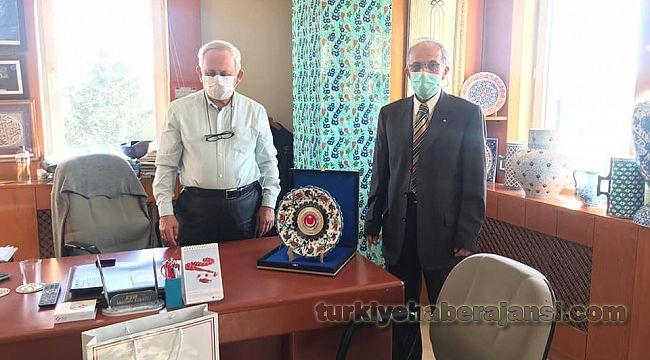 Polis Derneği Başkanı Nazlıpınar'dan TEŞEKKÜR Ziyareti