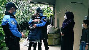 Polislik mesleğini seven Ayşegül'e ZİYARET SÜRPRİZİ