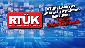 RTÜK, Lisanssız İnternet Yayınlarını Engelliyor