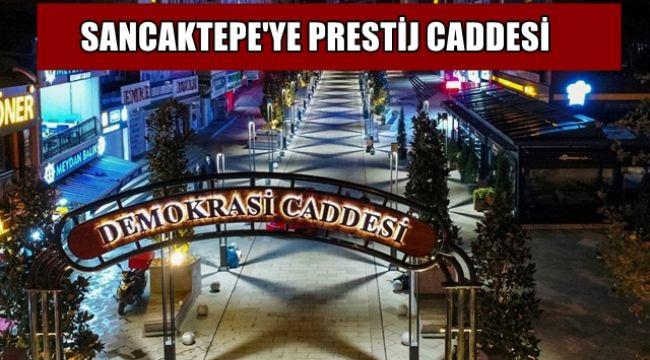 Sancaktepe Belediyesi, Yenilenen Demokrasi Caddesinin açılışını yaptı