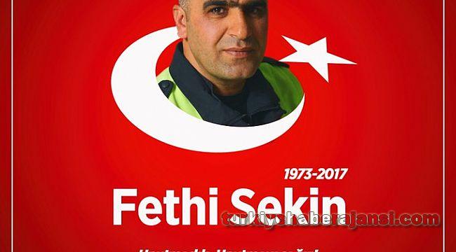 Şehit Polis Fethi Sekin'i Unutmadık, Unutmayacağız..!