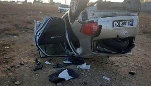 Trafik kazasında 2 polis memuru hayatını kaybetti