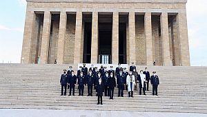 Türk Polis Teşkilatı Atatürk'ün Huzurunda..!