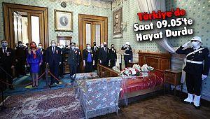 Türkiye'de Saat 09.05'te Hayat Durdu