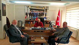 Başkan Ceylan'a Emniyet Müdürlerinden ZİYARET