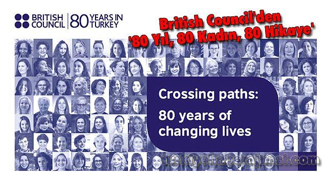 British Council'den '80 Yıl, 80 Kadın, 80 Hikaye '