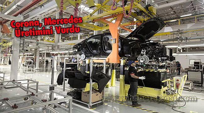 Corona, Mercedes Üretimini Vurdu