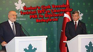 'Öcalan'a Çiçek Verenler, Teröristi TRT'ye Çıkartanlar PKK ile İlişkilerini Netleştirsin'