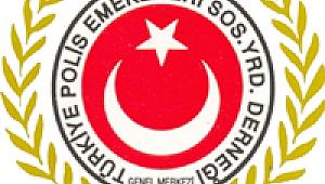 Polis Derneği yöneticilerinden hasta meslektaşa ZİYARET