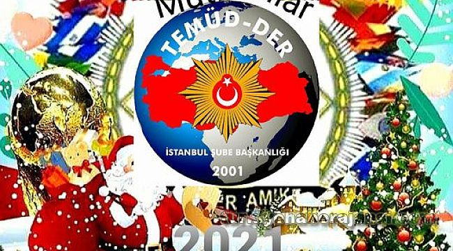 TEMÜD-DER'den Üyelere Yılbaşı Kutlama Mesajı