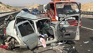 Trafikte 11 ayda 2 bin 75 kişi can verdi
