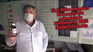 Türk Bilim AdamlarıKoronavirüs İçin Dünyanın En Etkili Maddesini Buldu