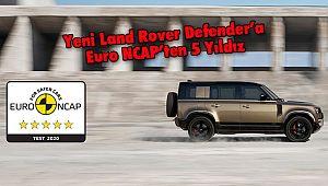 Yeni Land Rover Defender'aEuro NCAP'ten 5 Yıldız