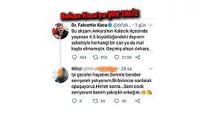 Bakan Koca'ya ŞOK TACİZ