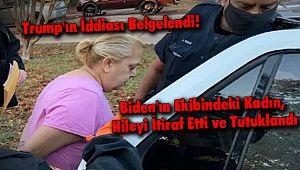 Biden'ın Ekibindeki Kadın, Hileyi İtiraf Etti ve Tutuklandı