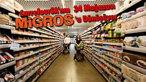 CarrefourSA'nın 34 Mağazası Migros'a Dönüşüyor