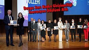 Duygu Sarı Kadın Girişimciliği İnovasyon Ödülünü Aldı