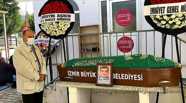 Emniyet Müdürü Aziz Aksoy toprağa verildi