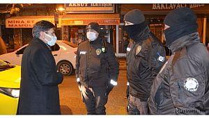 Malatya Emniyet Müdürü Polisleri Taksi Kullanarak Denetledi