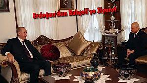 Erdoğan'dan Bahçeli'ye Ziyaret