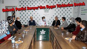 Gelecek Partisi Sarıyer'den Uygur Türklerine Destek