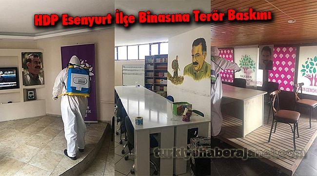 HDP Esenyurt İlçe Binasına Terör Baskını