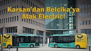 Karsan'dan Belçika'ya Atak Electric!