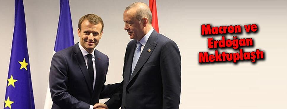 Macron ve Erdoğan Mektuplaştı
