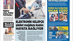 Polis Medya Gazetesi Ocak Sayısı Beğenildi