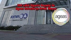 200 yıllık Sigorta Geçmişi ile Ageas AvivaSA'ya Ortak Oluyor