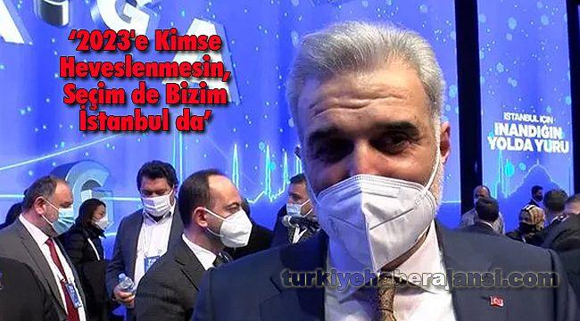 2023'e Kimse Heveslenmesin, Seçim de Bizim İstanbul da