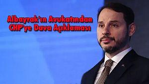 Albayrak'ın Avukatından CHP'ye Dava Açıklaması