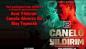 Avni Yıldırım - Canelo Alvarez İle Maç Yapacak