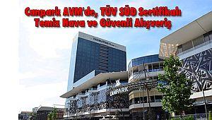 Canpark AVM'de, TÜV SÜD Sertifikalı Temiz Hava Ve Güvenli Alışveriş