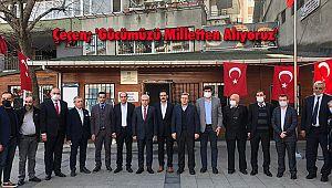 Çeçen; 'Gücümüzü Milletten Alıyoruz'