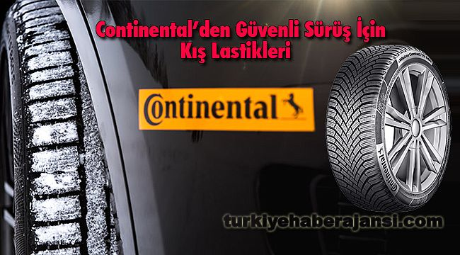 Continental'den Güvenli Sürüş İçinKış Lastikleri