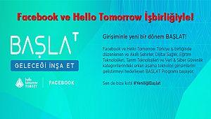 Facebook ve Hello Tomorrow'dan BAŞLAT Kampanyası